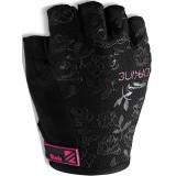 Велоперчатки Dakine Womens Novis 1/2 Finger Glove Black