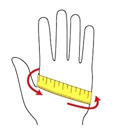 Как правильно подобрать размер перчаток/варежек Dakine